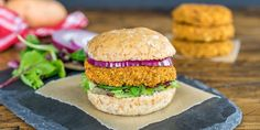 Quinoa and Sweet Potato Veggie Burgers