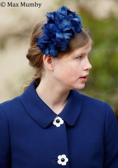 Lady Louise Windsor attends the traditional Easter Sunday church service at St George's Chapel, Windsor Castle on April 2017 in Windsor, England. (Photo by Max Mumby/Indigo/Getty Images) Princess Louise, Princess Marie Of Denmark, Princess Beatrice, Sophie Rhys Jones, Louise Mountbatten, Viscount Severn, Lady Louise Windsor, English Royal Family, Queen Elizabeth