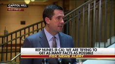 """""""The bigger question that needs to be answered is whether or not Mr. Trump or any of his associates were, in fact, targeted by any of the intelligence agencies or law enforcement authorities,""""  House Intel Chair Devin Nunes talked about the investigation that follows President Donald J. Trump's wiretapping accusation against President Barack Obama."""