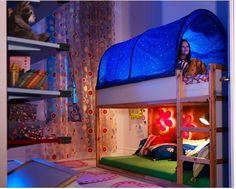Coolest Ikea Kids Bedroom Set Adorable Designing Bedroom Inspiration with Ikea Kids Bedroom Set Kura Ikea, Ikea Bunk Bed, Bunk Beds, Ikea Loft, Ikea Hack, Ikea Kids Playroom, Playroom Design, Cool Kids Bedrooms, Girls Bedroom