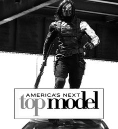 "I'm dying right now. Talk about ""Captain"" America's Next Top Model. <<<<< THAT COMMENT I CANT I JUST CANT"