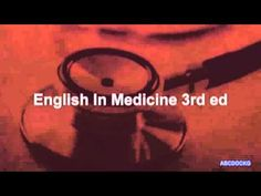 ▶ English in medicine - YouTube
