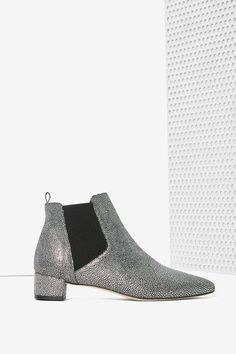 Miista Beau Chelsea Boot - Silver | Shop Shoes at Nasty Gal!