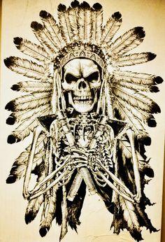 Trippy Drawings, Tattoo Design Drawings, Tattoo Designs, Native American Tattoos, Native American Art, Indian Skull Tattoos, Indian Wall Art, Finn Star Wars, Crane