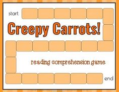 creepy carrots literacy activity Reading Games, Literacy Activities, Carrots, Creepy, Kindergarten, Books, Libros, Book, Carrot