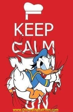 Keep Calm Red Disney Donald Duck phone wallpaper background iPhone Android Disney Films, Disney Cartoons, Disney Characters, Disney Duck, Walt Disney, Baymax, Keep Calm Disney, Dreamworks, Tweety
