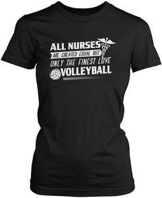 The Finest Nurses Love Volleyball