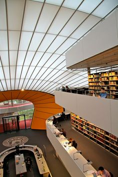 """Awesome interior views at the """"Berlin Brain"""""""