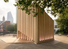 Henning Larsen designs The Cube by Velux | Wallpaper* Clocks Go Back, Sound Installation, Henning Larsen, Timber Structure, London Design Festival, Roof Window, Daylight Savings Time, Key Design, Outdoor Art