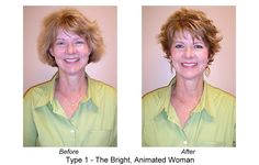"""Have a WOW day—when you look in the mirror and think, """"Wow, I'm beautiful!"""" Check out this Before and After to see how easy it can be!"""
