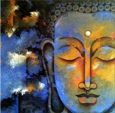 Rare Thoughts Art Gallery Lord Buddha #Art