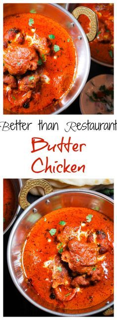 This butter chicken recipe will have you smacking your lips and begging for seconds. Sop up the sauce with rice and naan.
