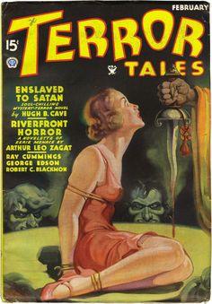 Pulp Fiction Art, Horror Fiction, Fiction Novels, Pulp Art, Science Fiction, Horror Comics, Horror Art, Horror Posters, Kitsch