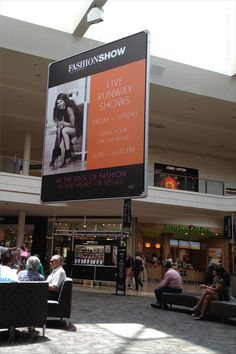 Shopping at the Fashion Show Mall - Las Vegas Boulevard - Las Vegas, Nevada, USA