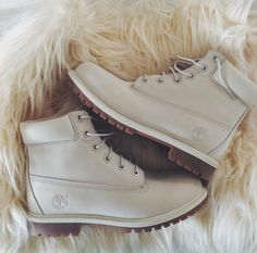 ➖ - Women's Fashion - Footwear  - Nude / Stone / Taupe - Timberlands #timberlands