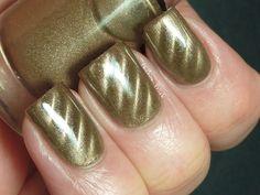 My magnetic franken nail polish pigment