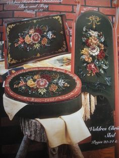 Jennifer Atkinson's Folkart-Decorative Painting Affair: Clearance Sale - Rosemaling Trends, Traditions and Beyond by Shirley Peterich and Pam Ruchinski at RM45