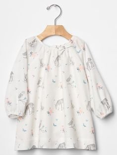 Woodland critter dress Product Image