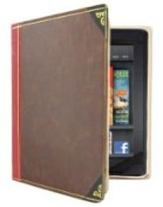 """Hype BOOK LOVER'S Faux Leather Carrying Case and Stand for 7"""" Tablets Samsung Galaxy Tab 2 3 4 7.0, Kindle Fire (not HD or HDX) Paperwhite E-ink  //  Description   //   Details  Color: Tan-Kindle Fire Brand: Hype Model: HY-1049-KF Dimensions: 5.00 h x 1.00 w x 8.00 l,.19 pounds   Features  Unique book design disguises Tablet for added security Gives your Tablet a classy and dignified look Stand is// read more >>> http://Rogelio106.iigogogo.tk/detail3.php?a=B00K24KF7C"""