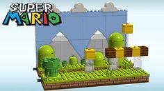 Idea Image for Super Mario Bros. to display in our Lego movie/arcade room