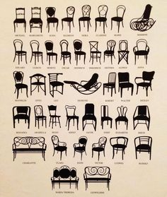 Clásicos del diseño industrial: sillas Thonet | Classic industrial design: Thonet chairs