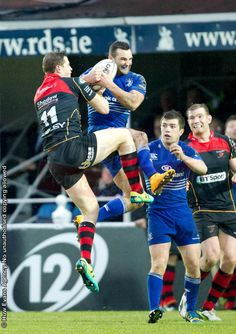 15/2/15 Dragons 16 : 14 Leinster. Hallam Amos and Dave Kearney