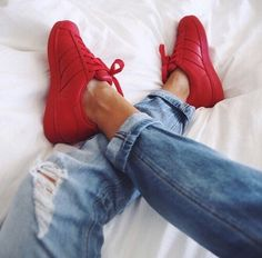 adidas originals superstar supercolor pharrell williams shoes red