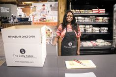 Be sure to stop by the Jolly Table next time you are at the market! They have pre-measured ingredients that you just have to cook up making a quick tasty and fresh meal! #YYCEats #YYCFood #YYC #CalgaryEats #Calgary #SymonsValleyMarket #SymonsValley