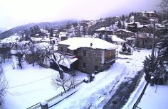 Winter and snow in Grevena town, west Macedonia, Greece Mount Everest, Snow, Mountains, History, Places, Macedonia Greece, Travel, Outdoor, Landscapes