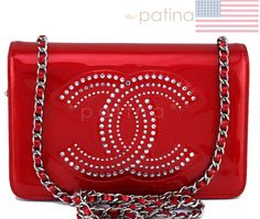 Chanel Cherry Red Patent Strass Crystals WOC Wallet on Chain Purse Bag 62202 | Clothing, Shoes & Accessories, Women's Handbags & Bags, Handbags & Purses | eBay!