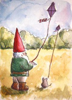 Let's go fly kites!  JollyGnome.com