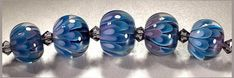 How to Make the Implosion/Petal Beads - Lampwork Etc.