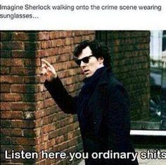 Benedict Cumberbatch as Sherlock Benedict Sherlock, Sherlock John, Sherlock Fandom, Bbc Sherlock Holmes, Watson Sherlock, Jim Moriarty, Sherlock Quotes, Sherlock Cumberbatch, Hunger Games