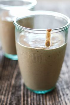 Vegan Mocha Protein Smoothie | edibleperspective.com
