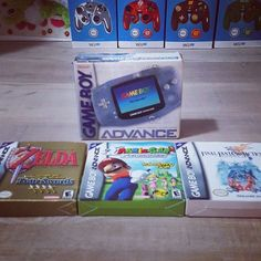 On instagram by retro.mojoe #gameboy #microhobbit (o) http://ift.tt/20X6EsE local pickup.  The games were well looked after and came with all the inserts English and French manuals and even the plastic baggies on the carts.  Always nice to find some decent local deals.  Can't wait to play some #Zelda on the bus.  #videogames #videogamecollection #retro #retrogaming #retrocollective  #nintendo advance #gba #mario #finalfantasy #kijijideals #nerdalert