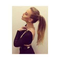 VIDEO Perrie Edwards clears up hair cut mystery after shocking Little... ❤ liked on Polyvore featuring hair, perrie edwards, perrie and little mix