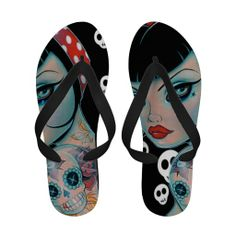 72f623b95ca9 Lost Souls Collection Flip-Flops Lost Soul