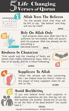 5 Ayahs Of Quran That Can Change The Life Of A Muslim Muslim / Islam / religion / guidance / truth