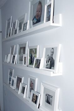 Gallery Wall Shelves -another project for hubby