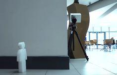 Ainda em fase de testes, equipamento utiliza lasers para identificar objetos que se movimentam atrás de paredes