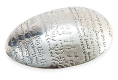 Christofle Peace Pebble Paperweight