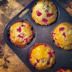 Muffins moelleux aux groseilles toutes fraiches by @Laetitia Paragot Paragot Paragot Paragot / Vert Cerise
