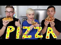 Why is pizza the perfect food ft the domestic geek youtube