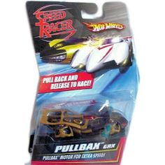 Hot Wheels Speed Racer Pullbax GRX by Mattel. $1.15. Pull Back and Release to Race. Pullback Motor for Extra Speed. Puul back & Peel Out, Collect them All, Ages 3 and Up