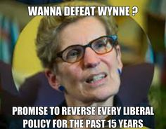 How to defeat the Wynne Liberals #onpoli