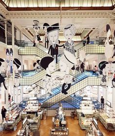 Read about Le Bon Marché Rive Gauche from Guest of a Guest on September 2016 Display Design, Store Design, Mall Design, Event Design, Exhibition Booth, Exhibition Space, Paris In January, September, Information About Paris