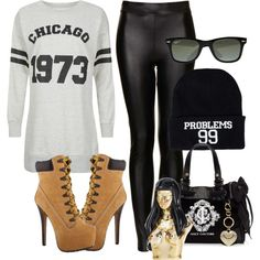 """99 Problems but Chicago Ain't 1"" by odd-ones-out on Polyvore"