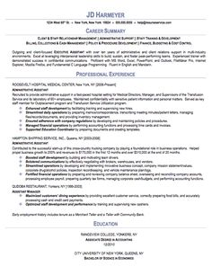 Tss Worker Sample Resume 64 Best Resumes Images On Pinterest  Resume Tips Resume Examples .