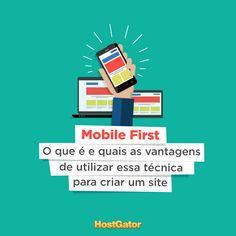 Com o aumento no uso de dispositivos móveis, seu site precisa estar preparado para receber os acessos mobile. Venha conferir o que é Mobile First e quais são as vantagens de utilizar essa técnica.
