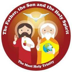 Santísima Trinidad. Happy Saints.